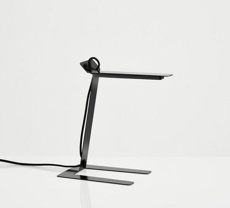 Benshee, black • Designed by Jannis Ellenberger #tablelamp #lamp #light #design #WOUDdesign