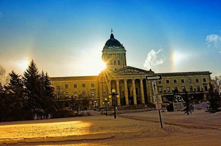 Manitoba legislative bldg