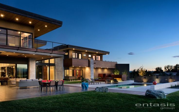 This new house on a hillside overlooks the Rocky Mountains in Colorado   CONTEMPORIST