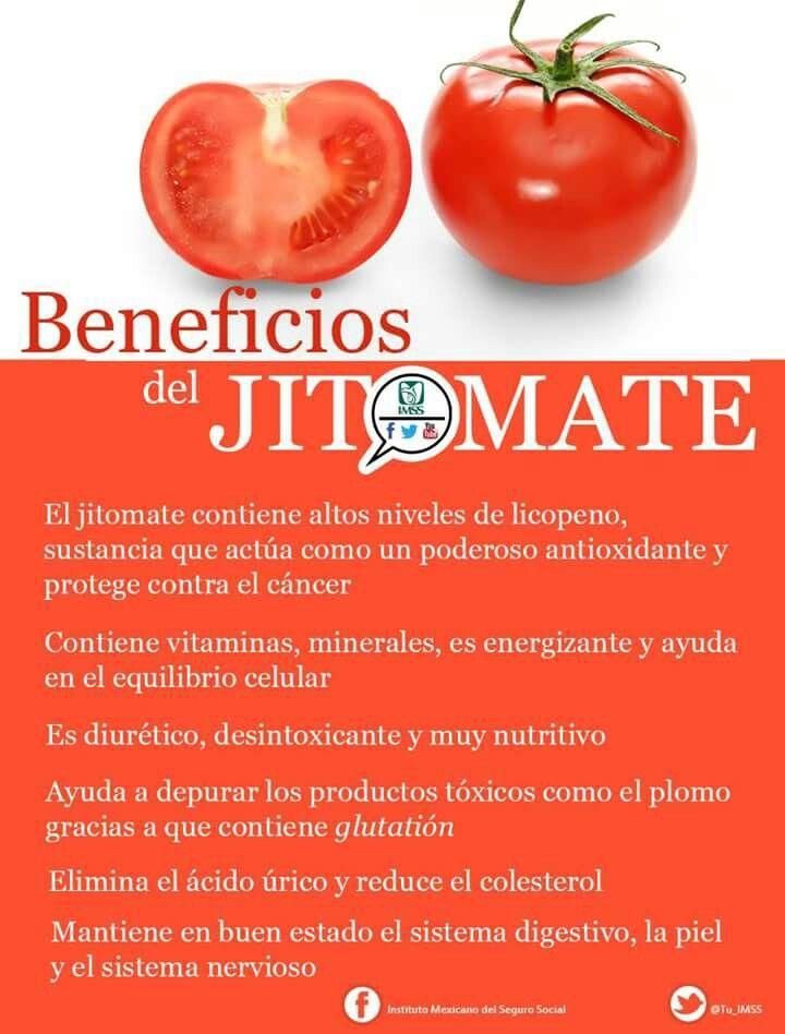 LOS BENEFICIOS DE L JITOMATE