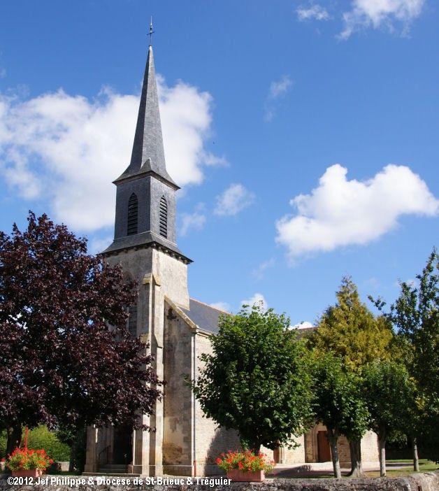 Église St-Blaise, à Trégomar.