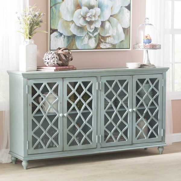You Ll Love The Kara 4 Door Accent Cabinet At Birch Lane With