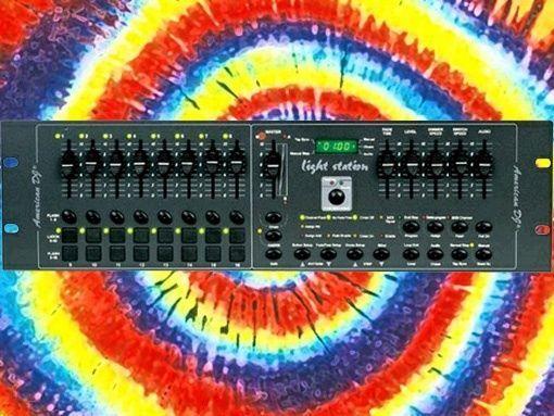 American DJ Light Station DMX Lighting Controller 16 channel rack mount - http://musical-instruments.goshoppins.com/stage-lighting-effects/american-dj-light-station-dmx-lighting-controller-16-channel-rack-mount/