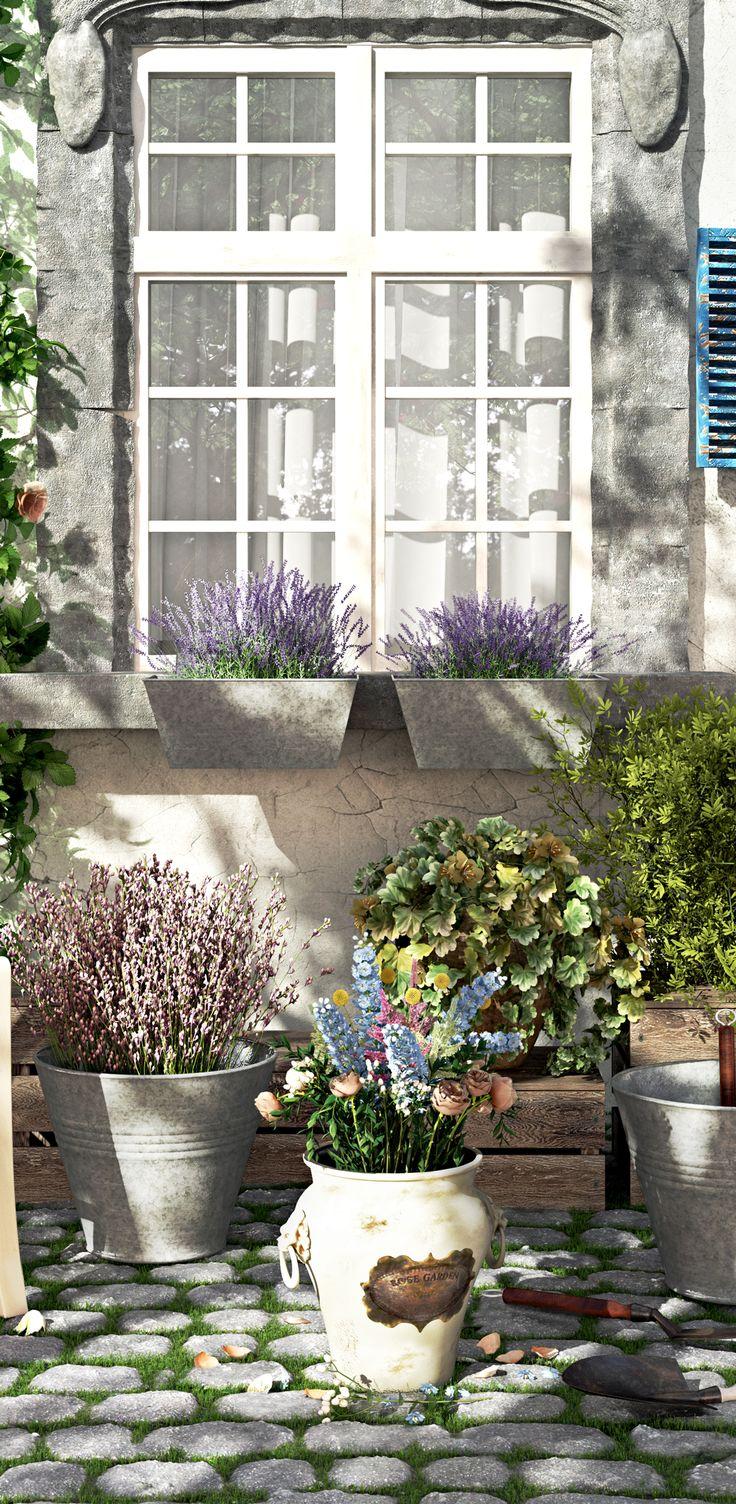 die besten 20+ blumenkästen für balkon ideen auf pinterest, Gartengerate ideen