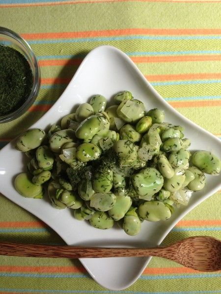 Greek-Style Fava Beans with Dill — California Greek Girl