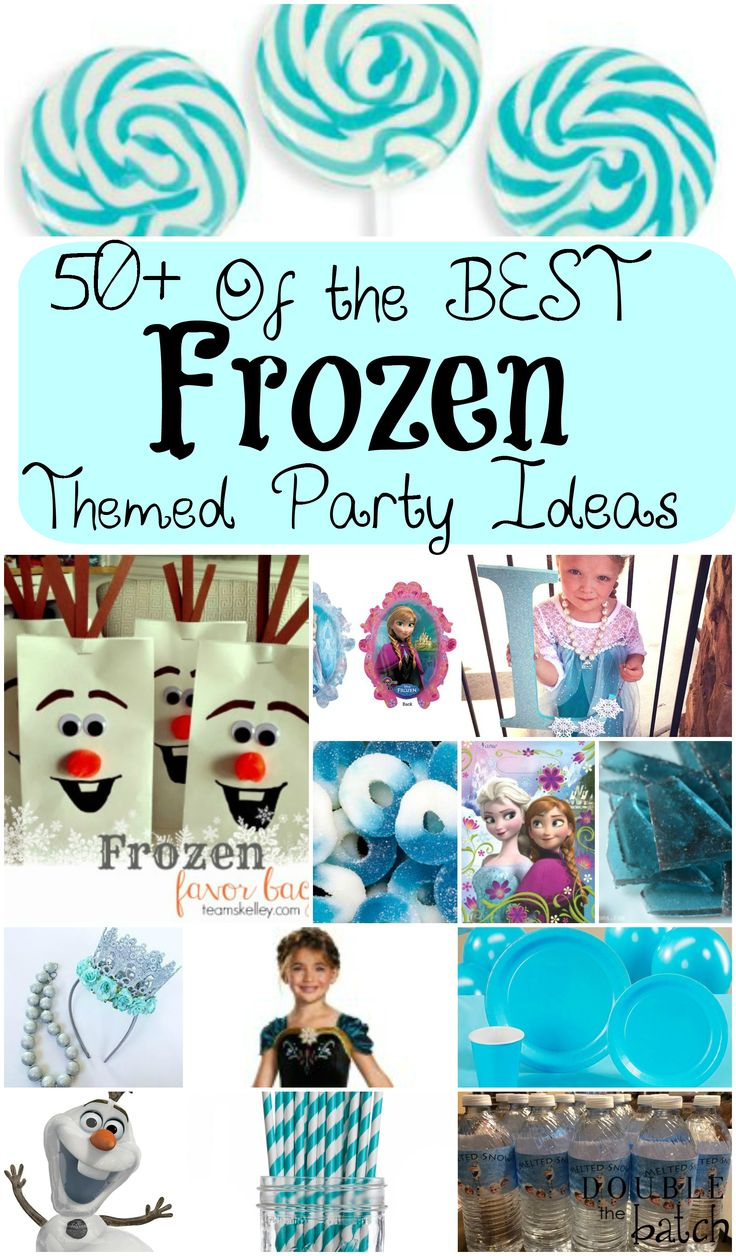 Wanting to throw a Frozen themed party? Compiled here is the best of Frozen printables, activities, decorations, food and treats, Amazon buys etc...