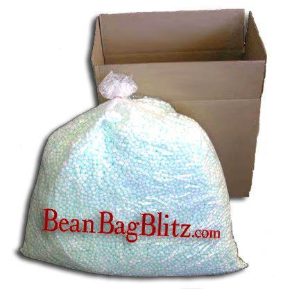 Virgin Bean Bag Stuffing Refill, 10 cf