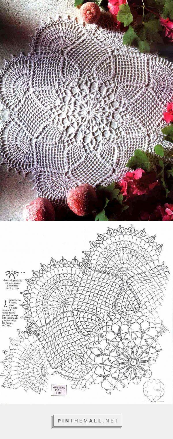 tejidos artesanales en crochet: piñas exoticas - created via http://pinthemall.net