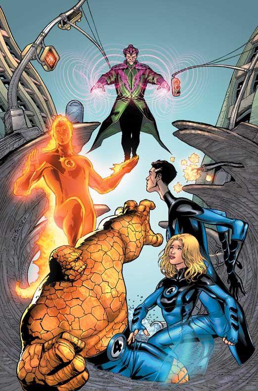 Fantastic Four vs. Molecule Man