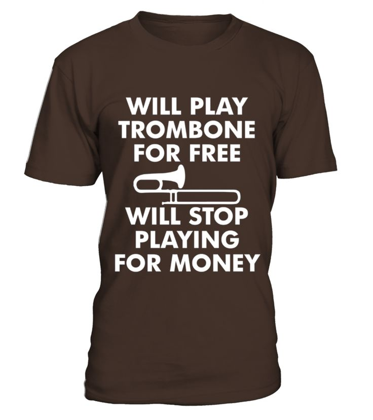 Men S Trombone Free Stop For Money Funny Musician Joke T-shirt Small Navy  Funny Money T-shirt, Best Money T-shirt
