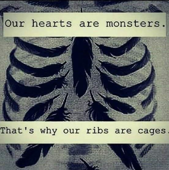 ❣Our hearts are monsters...