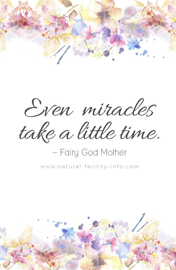 Infertility Quotes Even Miracles Take A Little Time Miscarriages Need A Voice