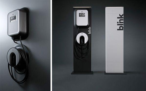 Frog design EV charging stations