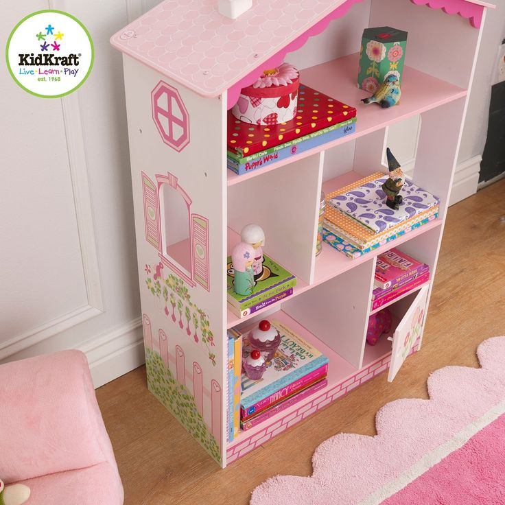 Amazon.com: KidKraft Dollhouse Cottage Bookcase: Toys & Games