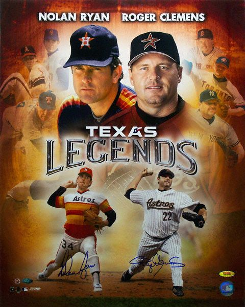 Nolan Ryan & Roger Clemens Legend