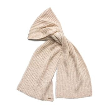 Calvin Klein Women's Mushroom Lurex Knit Scarf