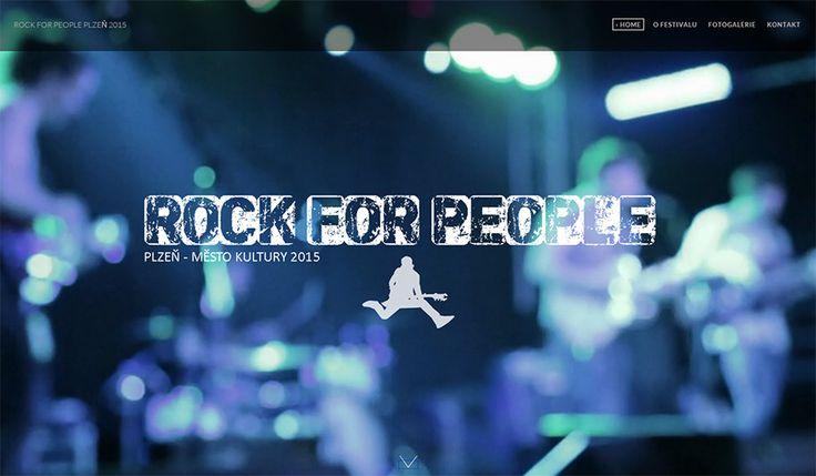 WFB Media Plzeň, zhotovení webových stránek a prezentací nejen            v Plzni a okolí - reference: vytvořili jsme tyto webové stránky pro festival Rock for People