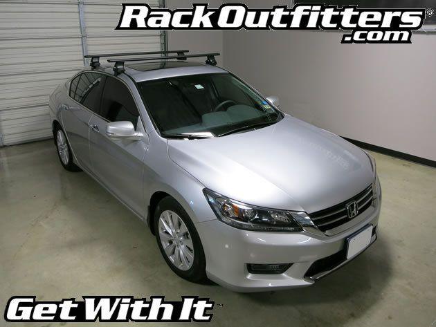 Honda Accord Thule Rapid Traverse BLACK AeroBlade Base Roof Rack U002713 U002715