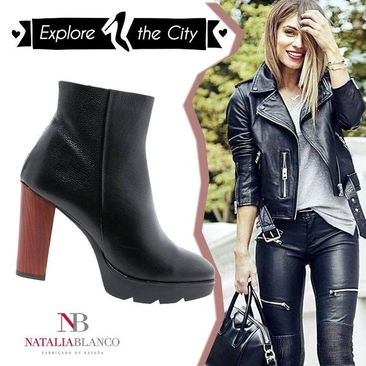 Natalia Blanco δερμάτινο μποτάκι, για άνετες βόλτες στην πόλη! ⚡Αγόρασε εδώ: http://bit.ly/NB_C705 | Έχεις ΔΩΡΕΑΝ ΜΕΤΑΦΟΡΙΚΑ για όλη την Ελλάδα☺