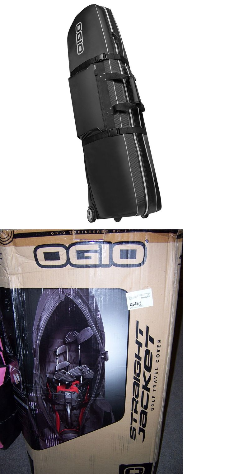 Golf Club Bags 30109: New Ogio Golf Straight Jacket Travel Bag With Wheels Carbon Black New In The Box -> BUY IT NOW ONLY: $89.99 on eBay!
