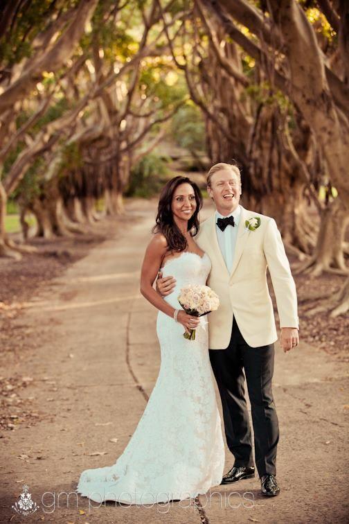 Wedding at Catalina Rose Bay. Image GM Photographics.