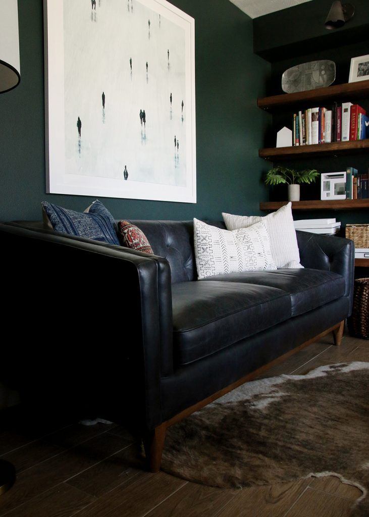 Black Couch Living Room Decor Ideas: 17 Best Ideas About Black Leather Sofas On Pinterest
