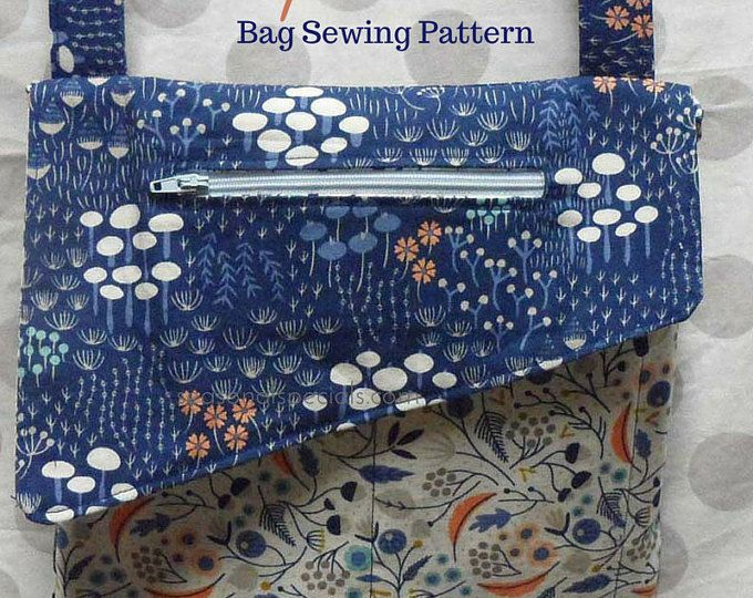 Tully Clutch and Cross Body Bag Sewing Pattern