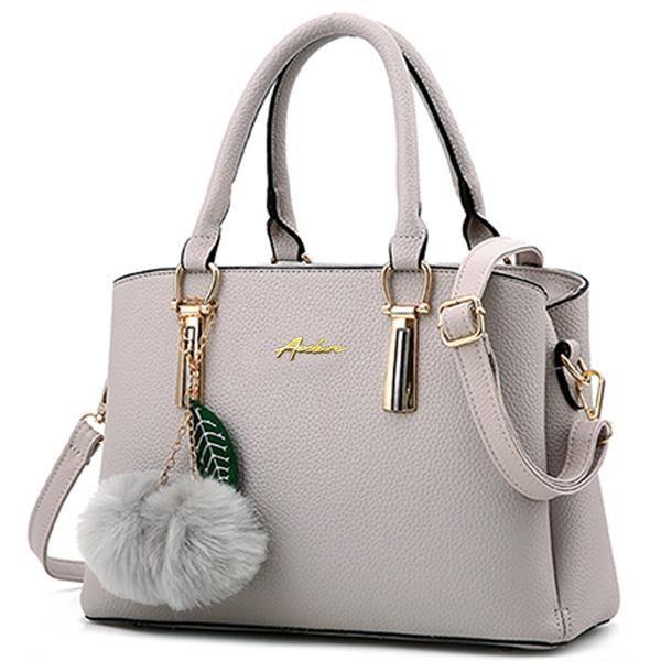 Women Handbags PU Leather shoulder bags Elegant solid European American Luxury Style Messenger Bags