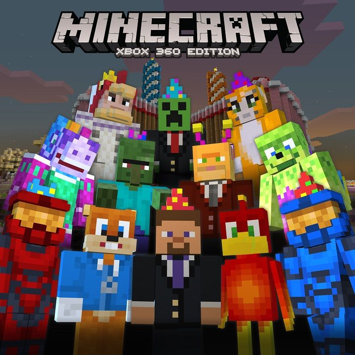 free BIRTHDAY SKIN PACK FOR XBOX 360 ! | stampy cat ...