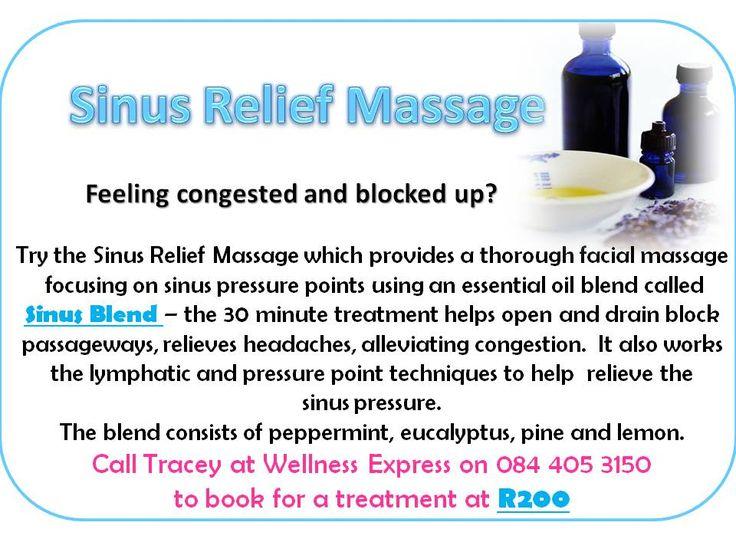 Sinus Relief Massage