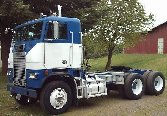 freightliner fla6364t cabover daycab trucks trucks freightliner