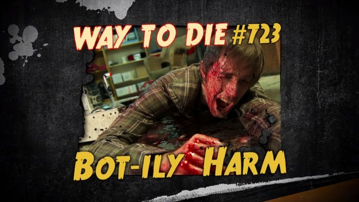 Spike TV's 1000 Ways to Die: Bot-ily Harm Episode 723 - Team Fast Electric Robots #battlebots