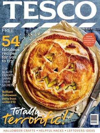 Tesco magazine – October 2016