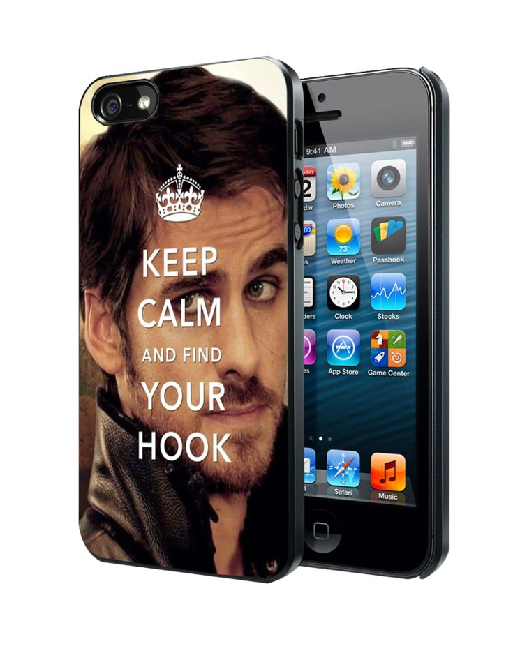 Once Upon A Time Captain Hook Keep Calm Samsung Galaxy S3 S4 S5 Note 3 Case, Iphone 4 4S 5 5S 5C Case, Ipod Touch 4 5 Case