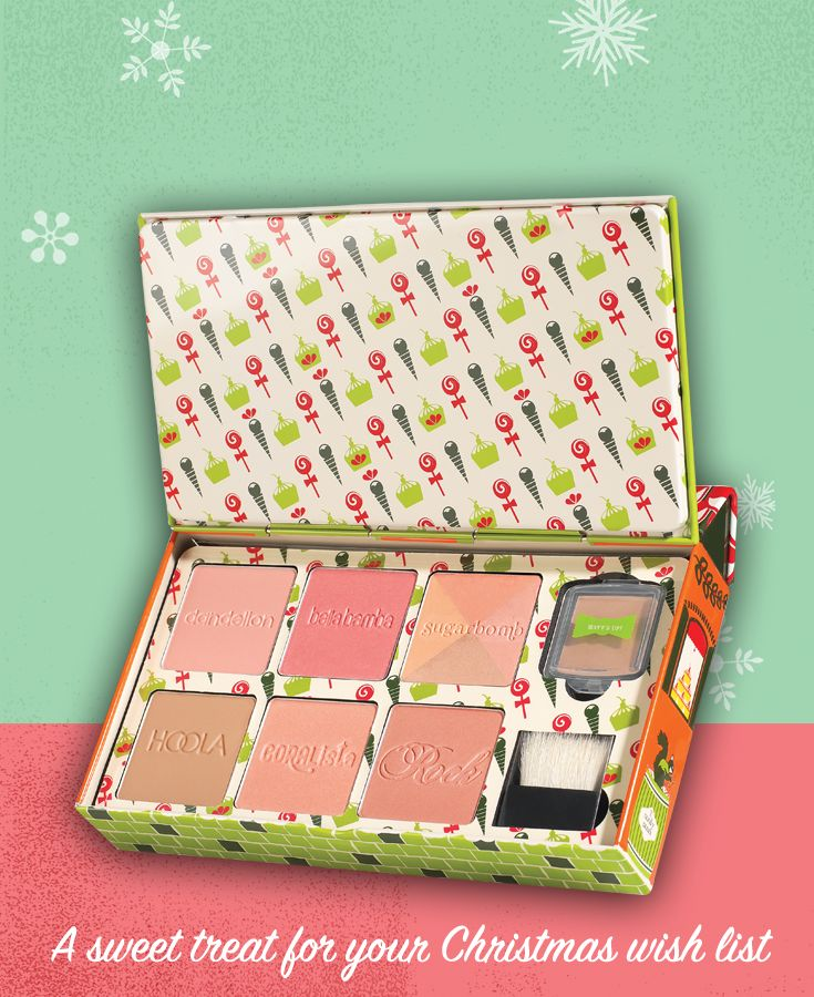 Repin to win a cheeky sweet spot set & post to Twitter with #benesweetshoppe on 17th Dec @benefituk