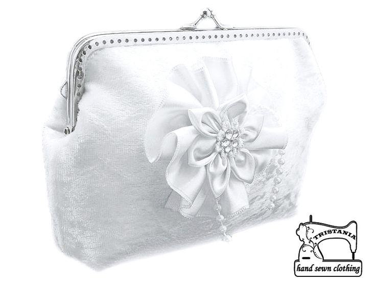 Clutches - Dames tas, clutch Tasje Handtassen bruiloft 0555 - Een uniek product van gothic-burlesque-shop op DaWanda