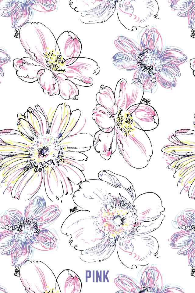 Victoria's Secret Flowers ★ Find more preppy wallpapers for your #iPhone + #Android @prettywallpaper