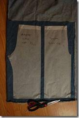 Bukse med lomme