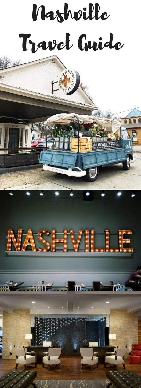 Your go-to roundup of the best places to visit in Nashville, including hotel, food, bars, shopping and more on Cup of Charisma.