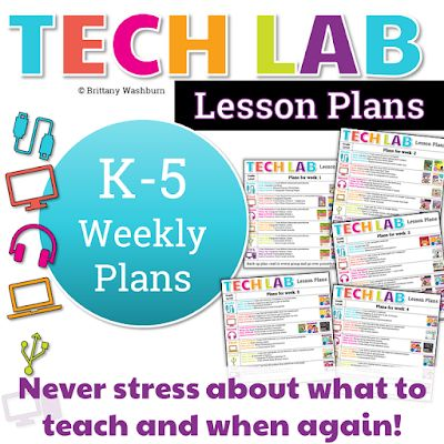 My goal with this is to free you up to take care of the other important things in your tech teacher life. Don't let your lesson plans stress you o…