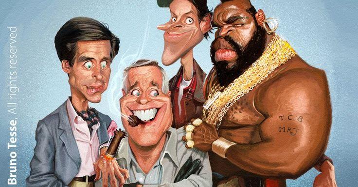 Las mejores caricaturas de los personajes más famosos del deporte, la música, el cine y la tv, realizadas por los mejores caricaturistas del mundo.