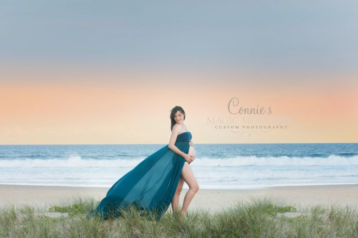 gold coast beach maternity photography