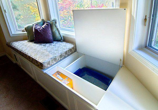 Love this idea for storage of larger kitchen appliances. Griddles, crock pots etc.