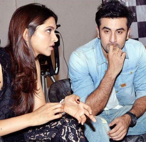 """Deepika Padukone & Ranbir Kapoor talking about their upcoming flick """"Yeh Jawaani Hai Deewani"""" which is about to release this friday."""