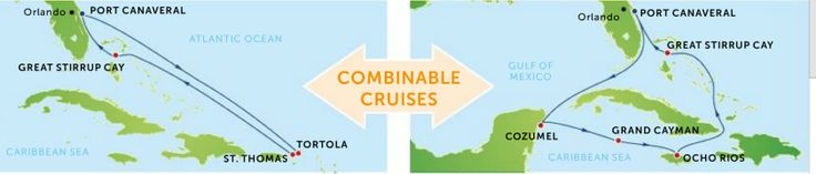 Krydstogt guide – Destinationer – Eventyrrejser - få flere oplevelser ved at kombinere to krydstogter