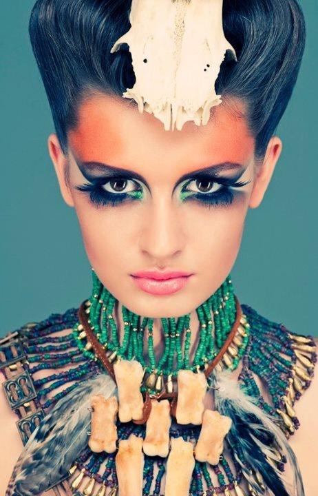 The Hounter -make up: Csengeri Adrienn styling:Parádi Gabriella photo:Filep Krisztina