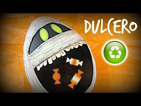 MANUALIDADES:calaverita(sugar skull)dispensador o maquinita de dulces - YouTube