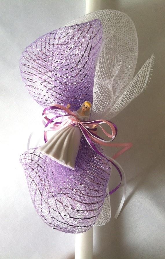 Disney Princess Easter Candle, $20.00 at Greek Wedding Shop ~ http://www.greekweddingshop.com