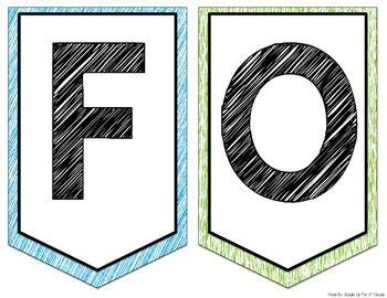 Focus Wall Headers FREEBIE: Journeys 2nd Grade