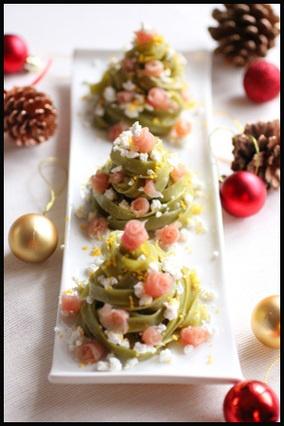 クリスマスツリーのパスタ|レシピブログ